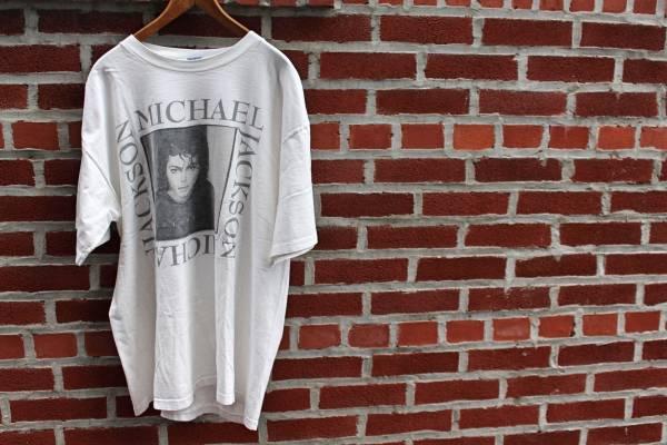 VINTAGE MICHAEL JACKSON KING OF POP Tシャツ マイケルジャクソン ヴィンテージ USA製 ライブグッズの画像