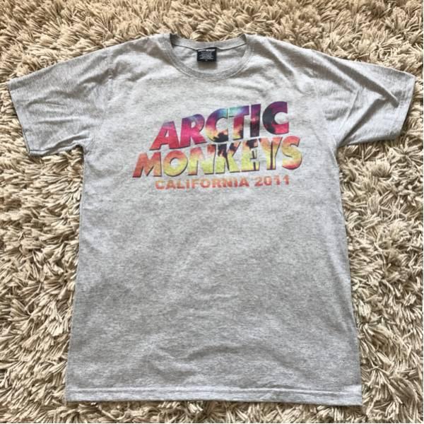 アークティックモンキーズ Tシャツ ARCTIC MONKEYS ツアーTシャツ バンドTシャツ CALIFORNIA 2011 Tシャツ