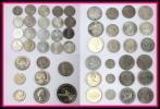 銀貨 白銅貨 52枚 チェコスロバキア スペイン 西ドイツ マン島 イギリス バーレーン オーストラリア インドネシア 中華民国 台湾 アメリカ
