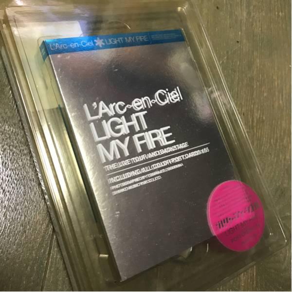 L'Arc~en~Ciel Light My Fire ポストカード 写真集