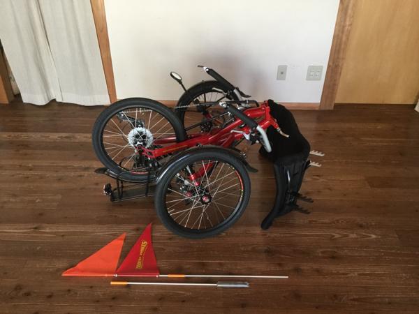 リカンベントトライク Trident Trikes 三輪自転車_画像3