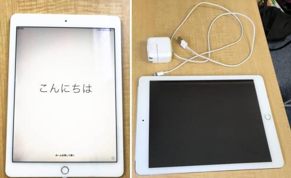★Apple アップル iPad Air2 A1567 64GB Wi-Fi+Cellular A1567 SoftBank シルバー×ホワイト_画像3