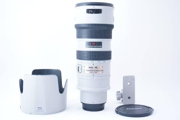 ★極上品★Nikon ニコン AF-S 70-200mm F2.8G ED VR IF  希少なライトグレー!