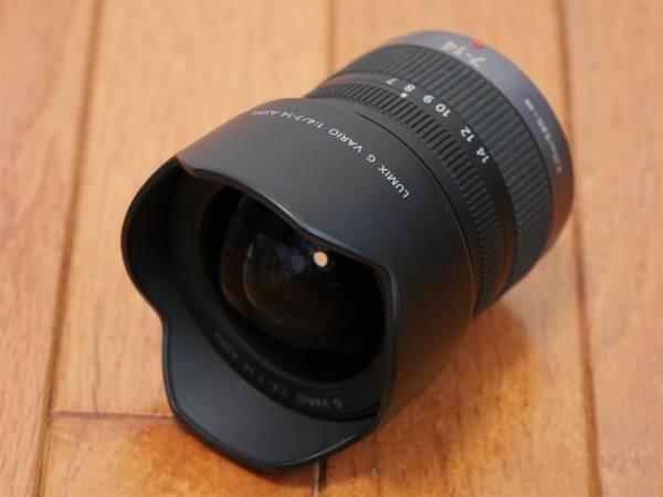 ルミックス LUMIX G VARIO 7-14mm/F4.0 ASPH. H-F007014(中古・美品)