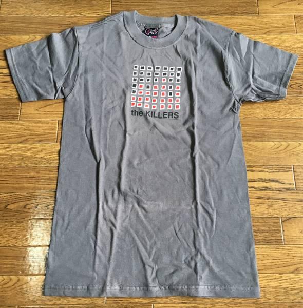 新品 ザ・キラーズ The Killers ロックTシャツ パンクTシャツ Sサイズ メンズTシャツ グレー 音楽 訳あり品 (0020)