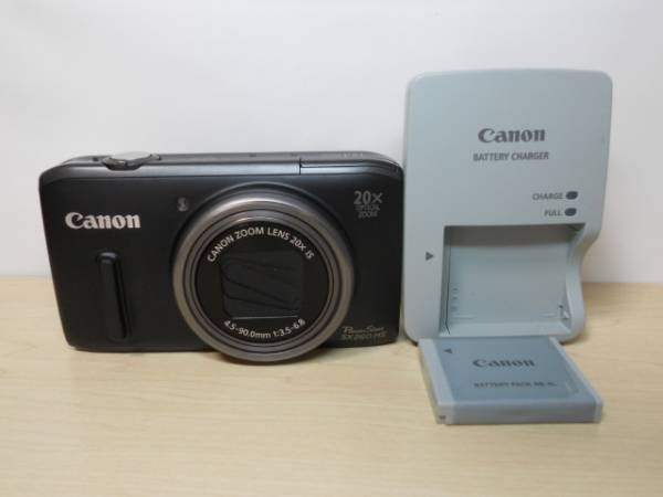 1円~ Canon PowerShot SX260HS(中古美品)