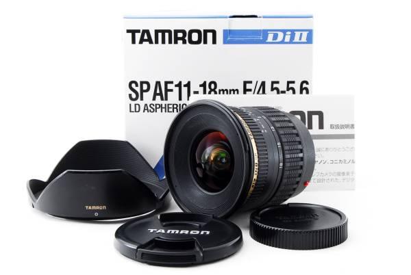 希少広角 タムロン TAMRON AF 11-18mm F4.5-5.6 Di II SP ソニー ミノルタ #1403