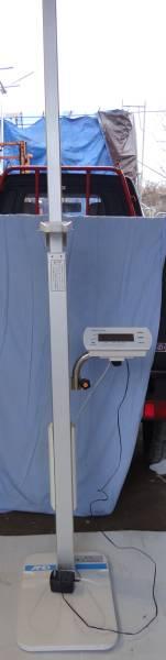 Y557-3 エー・アンド・デイ デジタル 身長計 AD-6400 健康 器具 中古 美品 整骨院 身体測定