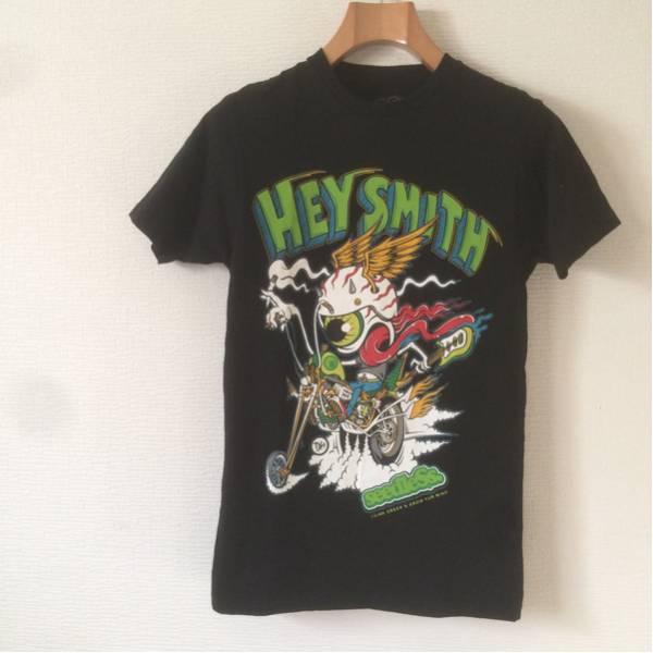 HEY SMITHヘイスミスseedleSsバンドTシャツSロックTシャツ