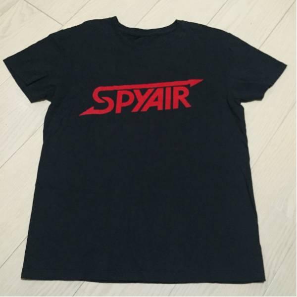 SPYAIR Tシャツ 黒 初期ロゴ Mサイズ /グッズ タオル CD レア