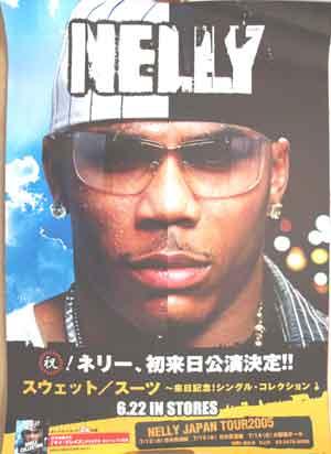 ネリー 「スウェット/スーツ~来日記念!・・・」 ポスター