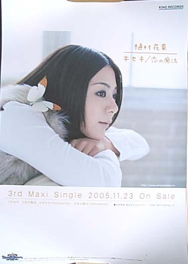 植村花菜 「キセキ/恋の魔法」 ポスター