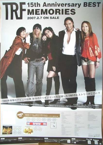 TRF 「TRF 15th Anniversary BEST ・・・」 ポスター