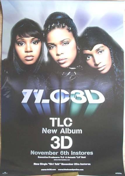 TLC 「3D」 ポスター