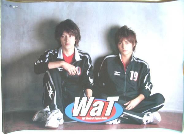 WaT (ウエンツ瑛士と小池徹平) ポスター