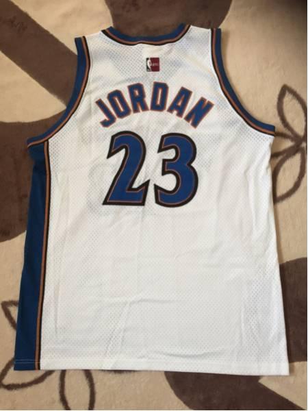 NBA ユニフォーム majestic マジェスティック Jordan ジョーダン Wizards ウィザーズ グッズの画像