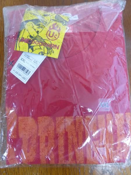 奥田民生 ユニコーン unicorn ユニクロ コラボTシャツ XXLサイズ 未使用 スプリングマン レッド ライブグッズの画像