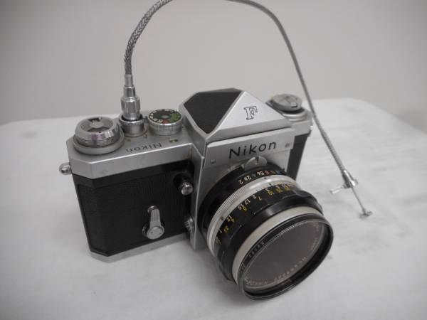 ニコン NIKON F シルバーボディ NIKKOR-H 1:1.2 f=50mm #11061_画像3