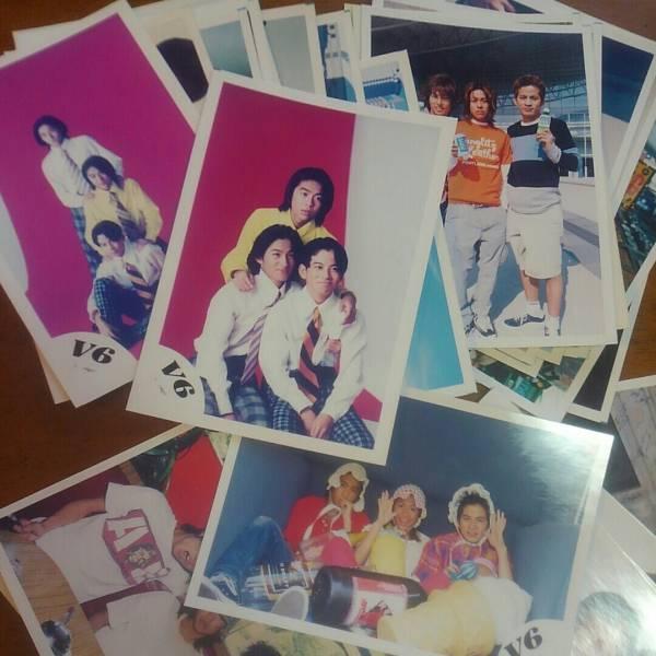 【送164円】V6 カミセン公式生写真初期~47枚 森田剛 三宅健 岡田准一 コンサートグッズの画像