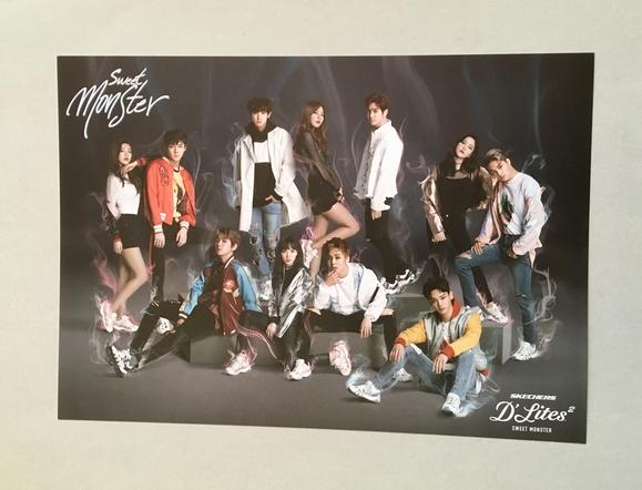 EXO 『スケッチャーズ SKECHERS』 ポスター ★ 集合 全員 Red Velvet