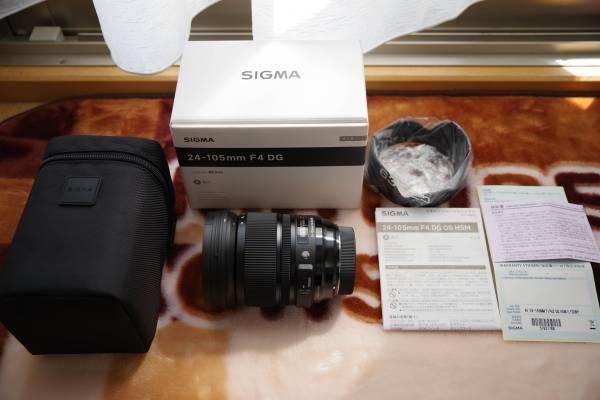 ★新品 シグマArtレンズ 24-105mm F4 DG HSM Art SONY用(条件次第で送料無料)