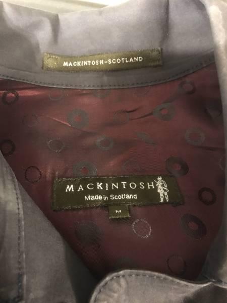 マッキントッシュ Made in Scotland ゴム引きコートMサイズ_画像3