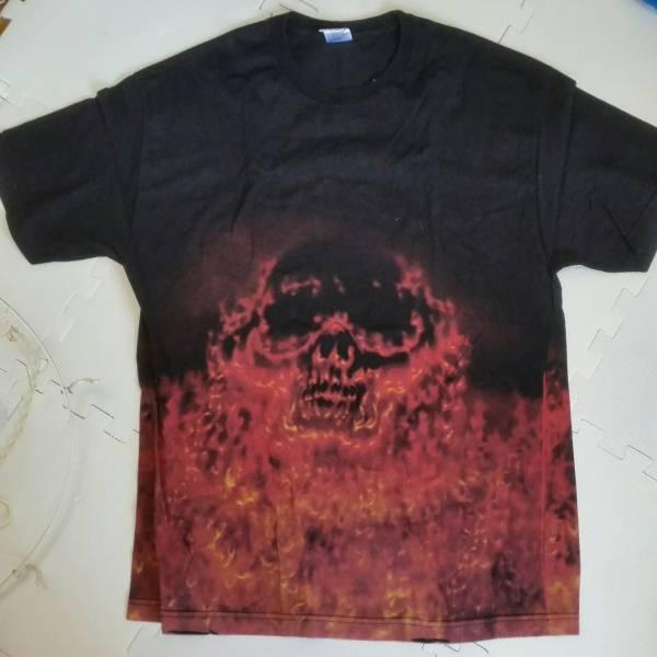 megadeth mega deth 総柄 Tシャツ