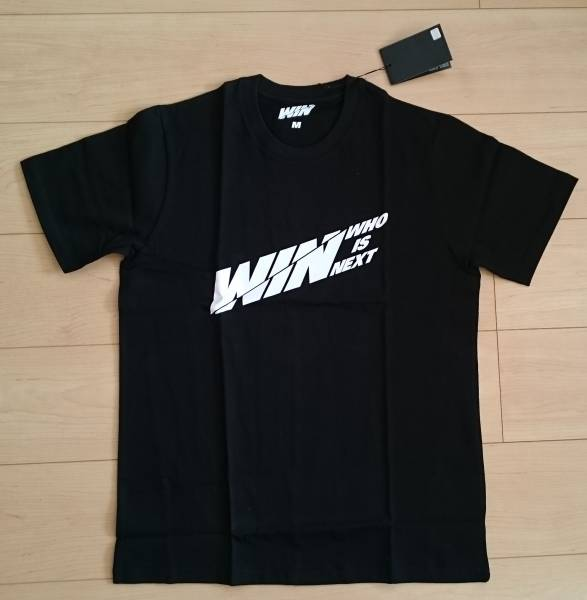 ★新品◆WIN:Who Is Next◆YG公式Tシャツ◆WINNER◆iKON◆1点限り!