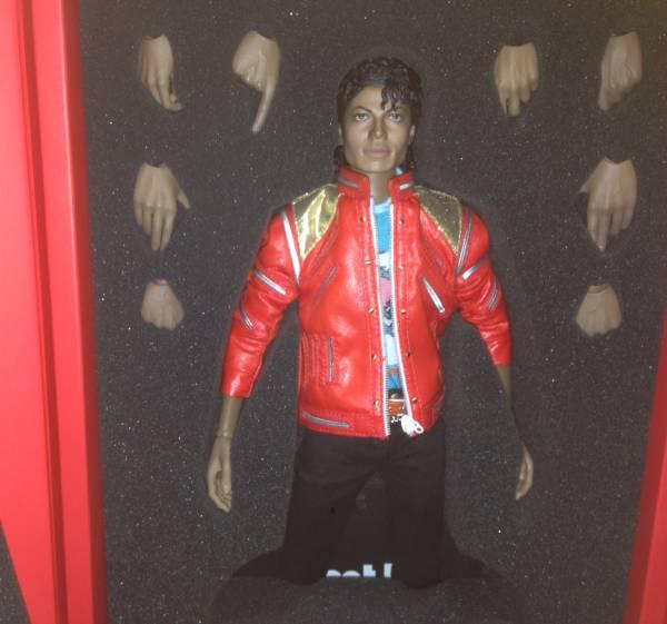 Hottoys 1/6 「ビートイット・マイケルジャクソン」Michael Jackson - Beat it/ホットトイズ、スリラー ライブグッズの画像