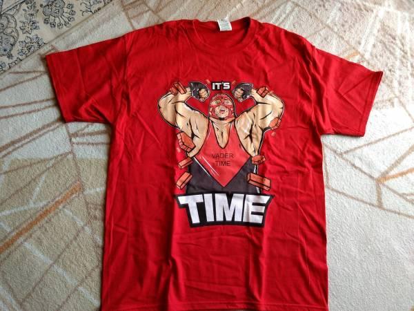 日本未発売 海外限定 新品 Lサイズ ビッグバン ベイダー Tシャツ WWE WCW 新日本 プロレス WWF NOAH 全日本 スタンハンセン バンバンビガロ グッズの画像