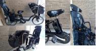 パナソニック ギュットミニDX 子供乗せ 3人乗り 電動アシスト自転車 幼稚園 保育園 送迎