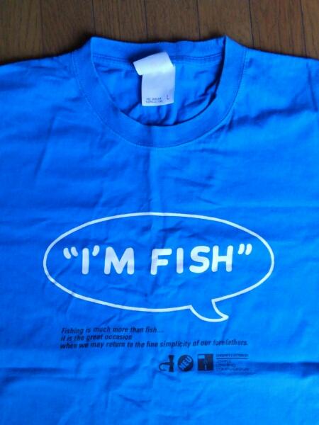 FISHMANS フィッシュマンズ I'M FISH Tシャツ 10周年記念 2005年 青 Lサイズ