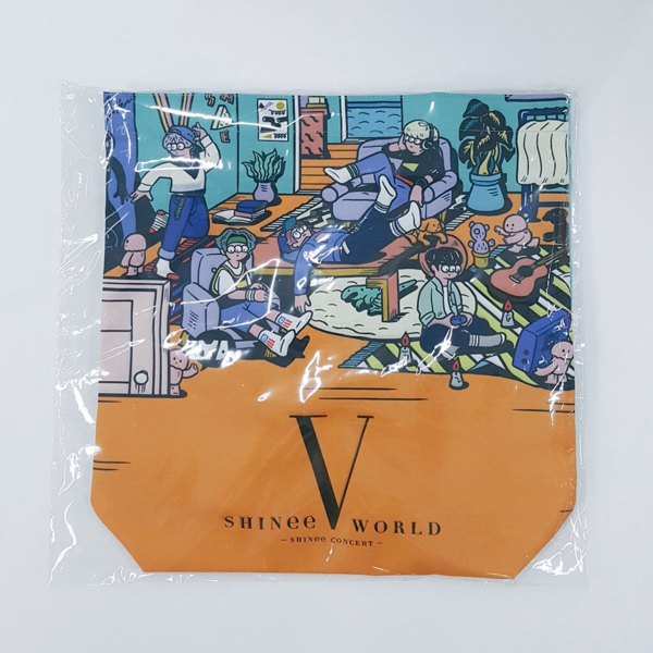 SHINee WORLD V JAPAN 横浜_テイクアウトバッグ★テミン キー KEY オニュ ミノ ミンホ ジョンヒョン