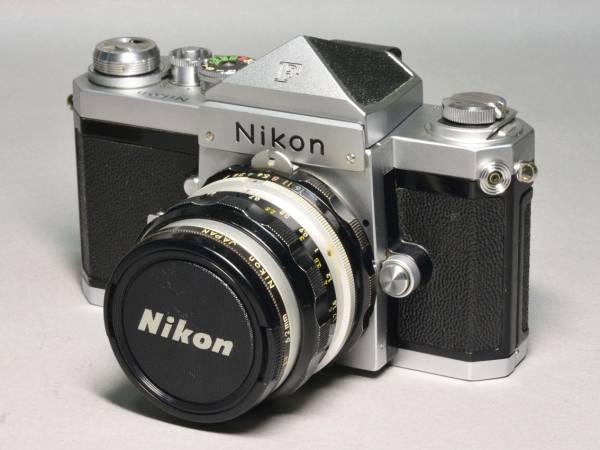 美品 ニコン Nikon F アイレベル 50mm F2.0 完動品