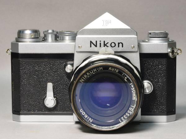 美品 ニコン Nikon F アイレベル 50mm F2.0 完動品_画像2