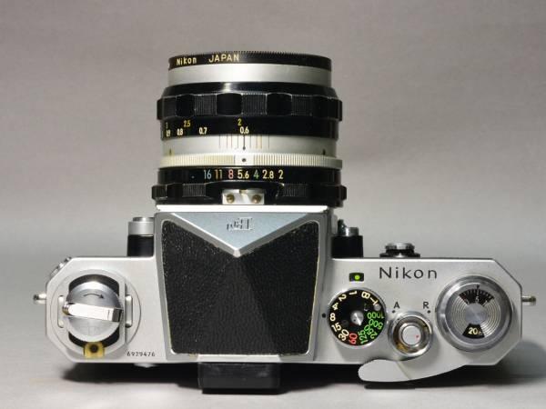 美品 ニコン Nikon F アイレベル 50mm F2.0 完動品_画像3