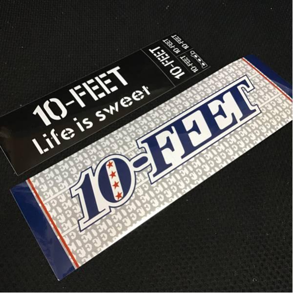 10-FEET ステッカー 2枚セット