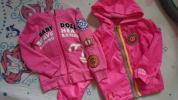 BABY DOLL 110女の子 パーカーとジャンバ