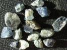 戦地アフガニスタン産のサファイア原石セットです。