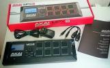 ★★ AKAI MPX8 モバイル可能なサンプラー サンプル音源入りSDカード付き 美品★★MPC500やMPC1000よりも持ち運びが楽★★