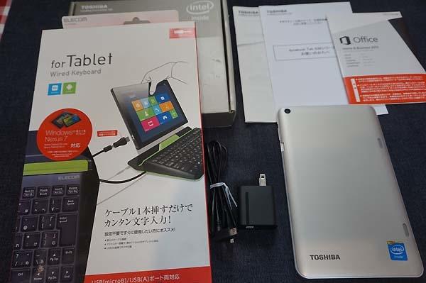 東芝Dynabook Tab S38/26M (PS38-26MNXG) Office搭載 おまけキーボードセット_画像3