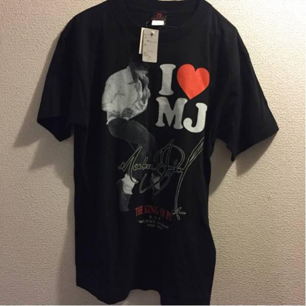 新品 MICHAEL JACKSON マイケルジャクソン Tシャツ サイズL ライブグッズの画像