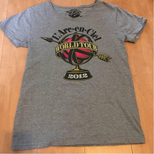 美品 ラルクアンシエル L'Arc-en-Ciel WORLD TOUR 2012 Tシャツ S