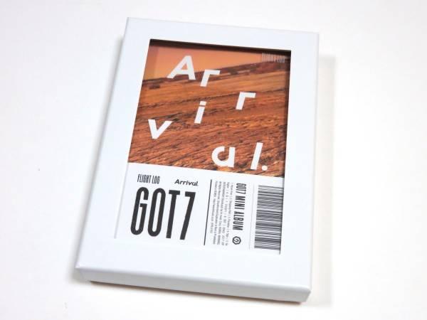 最新CD GOT7/ガッセブン★『FLIGHT LOG:Arrival』 未再生 NEVER ver. ①