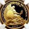 最上級 イギリス 2007 ブリタニア&ライオン 50ポンド金貨 NGC PF70UC