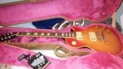 超美品・Gibson Les Paul Custom トラ目