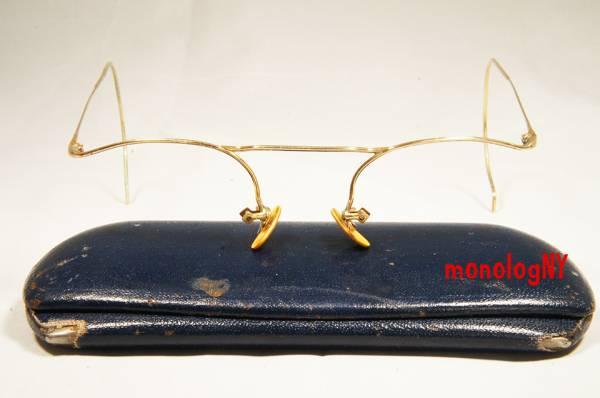 AO ビンテージ 1940s アメリカンオプティカル NUMONT ジョンレノン FULVUE 眼鏡 12KGF