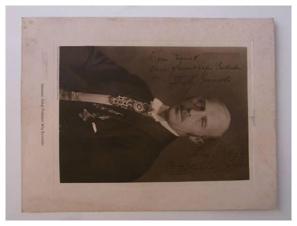 1923年 大正12年訪日 ウィリー・ブルメスター Willy Burmester サインと直筆楽譜 検・大正SP盤 ワルツ ニコロ・パガニーニ