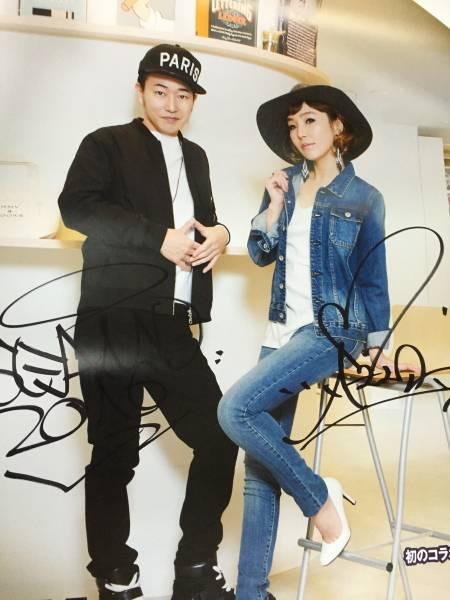 ★当選品!Right-on・ライトオン SEAMO & AZU直筆サイン入りポスター★