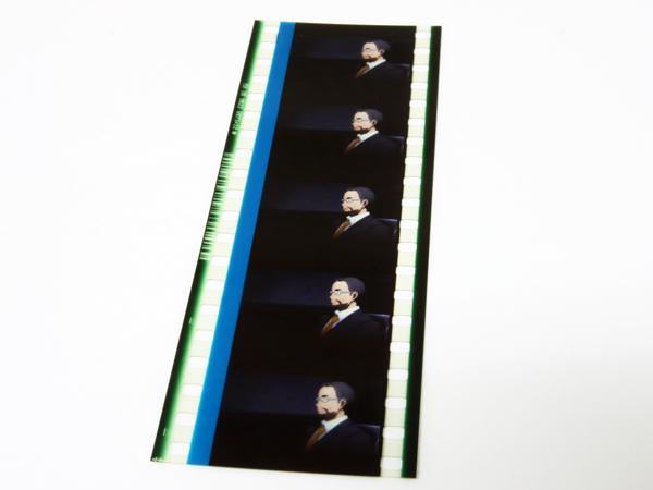 劇場版 SAO ソードアート・オンライン 重村教授 ユナの父親 キリトと面談? 35mmフィルムコマ 5週目 来場者特典_画像2